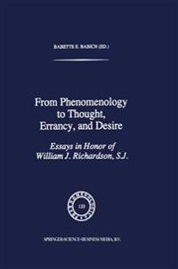 From Phenomenology to Thought, Errancy, and Desire