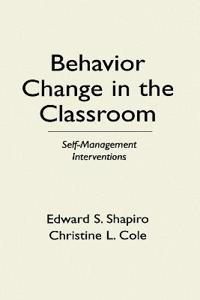 Behavior Change in the Classroom