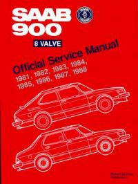 Saab 900 Eight Valve Official Service Manual, 1981-1988