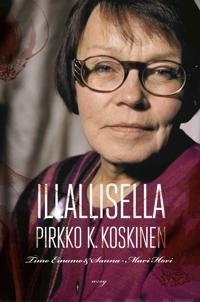 Illallisella Pirkko K. Koskinen