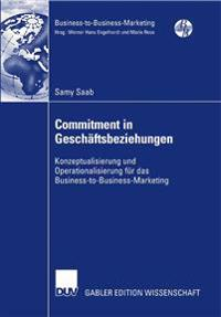 Commitment in Geschäftsbeziehungen