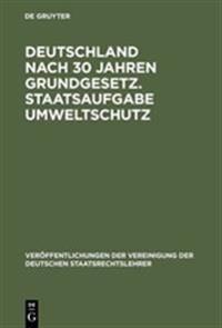Deutschland Nach 30 Jahren Grundgesetz