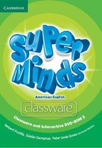 Super Minds American English Level 2 Classware + Interactive Dvd-rom