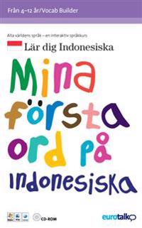 Mina första ord. Indonesiska