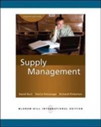 Supply Management (Int'l Ed)