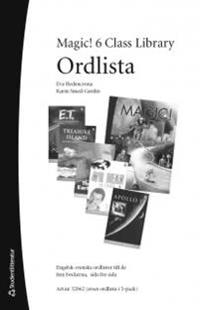 Magic! 6 Class Library Ordlista (5-pack)