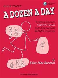 A Dozen a Day, Book 3 [With CD]