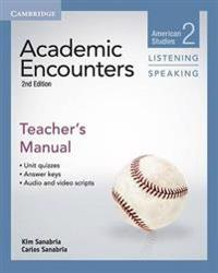 Academic Encounters Level 2 Teacher's Manual Listening and Speaking