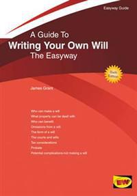 Guide To Writing Your Own Will