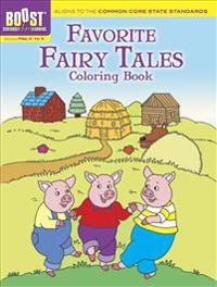 Favorite Fairy Tales Coloring Book