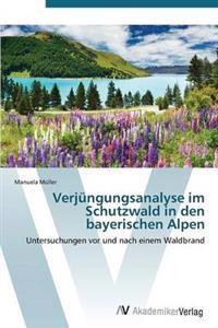 Verjungungsanalyse Im Schutzwald in Den Bayerischen Alpen
