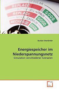 Energiespeicher Im Niederspannungsnetz