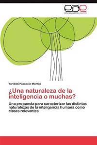 Una Naturaleza de La Inteligencia O Muchas?