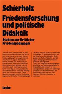 Friedensforschung Und Politische Didaktik