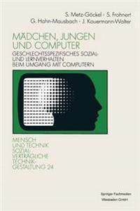 Mädchen, Jungen Und Computer