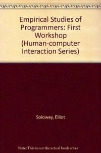 Empirical Studies of Programmers