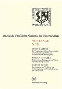 Die Vergasung von Festen Brennstoffen - Eine Zukunftsaufgabe für den Westdeutschen Kohlenbergbau