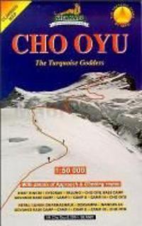 Cho Oyu (Himalaya) Trekkingkarte 1 : 50 000