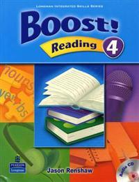 Boost! Reading Level 4 SB w/CD