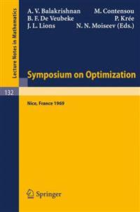 Symposium on Optimization