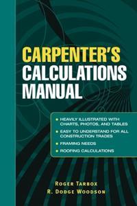 Carpenters Calculations Manual