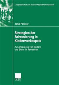 Strategien Der Adressierung in Kinderwerbespots