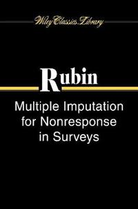 Multiple Imputation for Nonresponse in Surveys