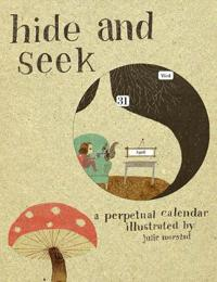 Hide and Seek Perpetual Calendar