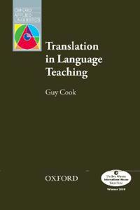 Translation in Language Teaching