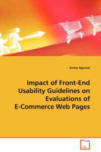 Impact of Front-end Usability Guidelines on Evaluations of E-commerce Web Pages