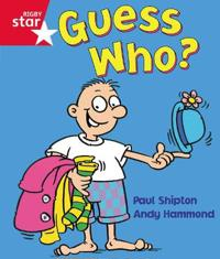 Rigby Star Guided Reception:  Red Level: Guess Who? Pupil Book (single)