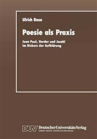 Poesie Als Praxis