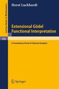 Extensional Goedel Functional Interpretation