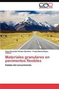 Materiales Granulares En Pavimentos Flexibles