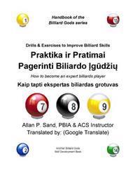 Praktika IR Pratimai Pagerinti Biliardo Igudziu: Kaip Tapti Ekspertas Biliardas Grotuvas