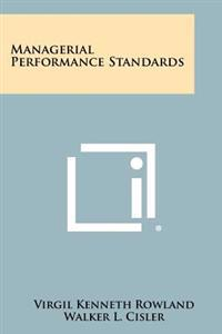 Managerial Performance Standards