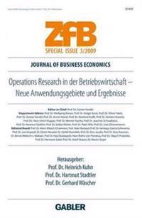 Operations Research in Der Betriebswirtschaft: Neue Anwendungsgebiete Und Ergebnisse