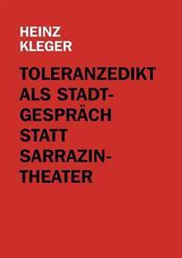 Toleranzedikt ALS Stadtgespr Ch Statt Sarrazin-Theater