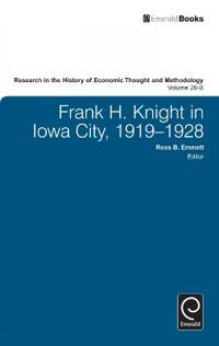 Frank H. Knight in Iowa City, 1919-1928