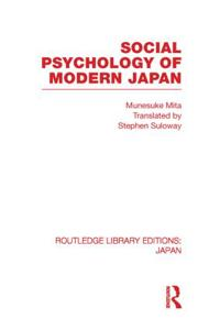 Social Psychology of Modern Japan