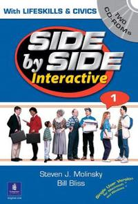 Side by Side Interactive 1, with Civics/Lifeskills (2 CD-ROMs)