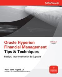 Oracle Hyperion Financial Management Tips and Techniques