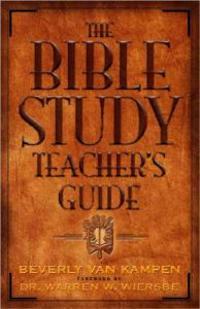 The Bible Study Teacher's Guide