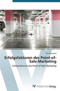 Erfolgsfaktoren Des Point-Of-Sale-Marketing