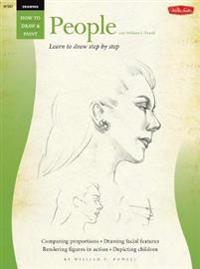 Drawing: People with William F. Powell: Learn to Paint Step by Step