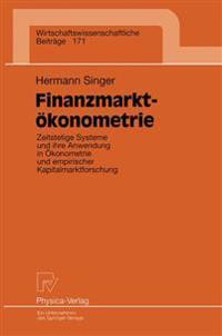 Finanzmarktokonometrie
