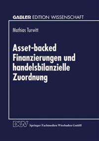 Asset-Backed finanzierungen und handelsbilanzielle zuordnung