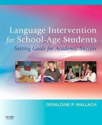 Language Intervention for School-Age Students