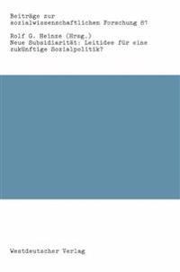 Neue Subsidiaritat