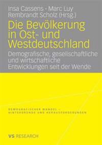 Die bevolkerung in Ost- und Westdeutschland